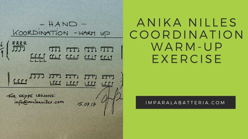 Copertina esercizio Anika Nilles coordinazione quintine