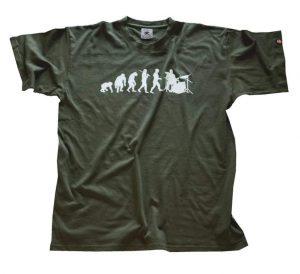 t-shirt batteristi