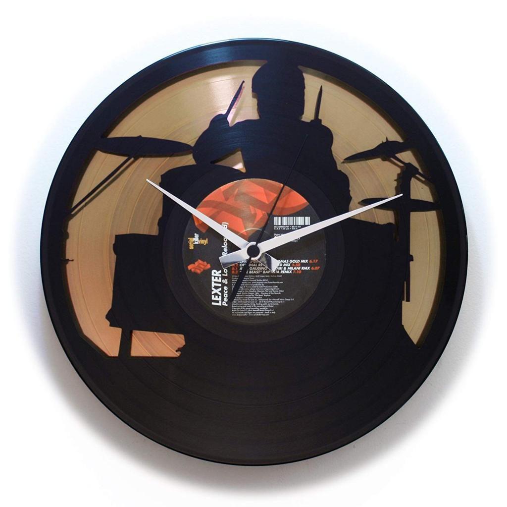 Orologio da parete batterista