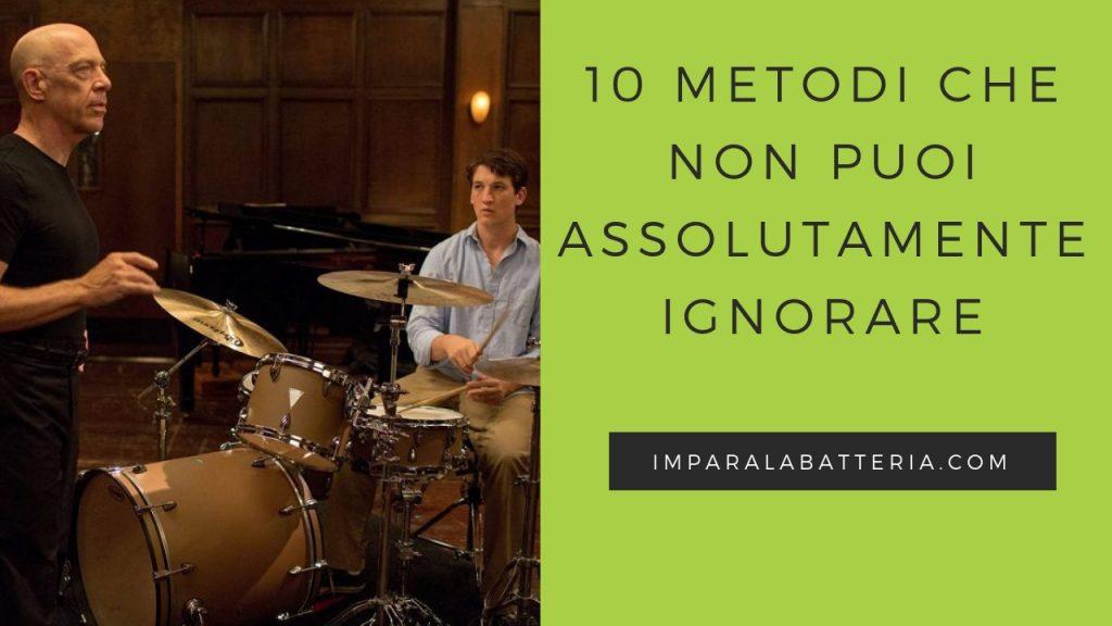 10 metodi che non puoi ignorare