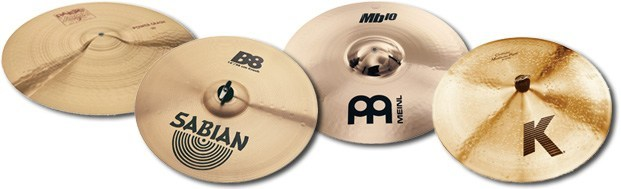 B8 and B20 cymbals