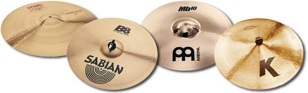 B8 and B20 cymbals